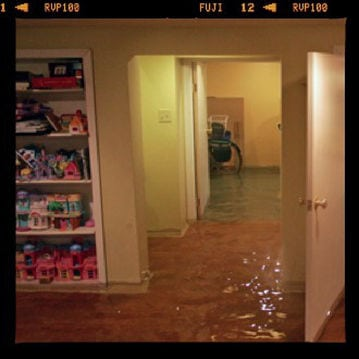 flooded basement photo