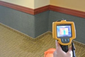 thermal imaging camera for measuring moisture in wet walls