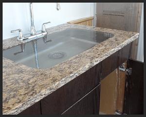 kitchen sink overflowing