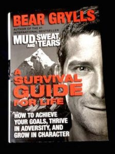 Survival guide book cover image