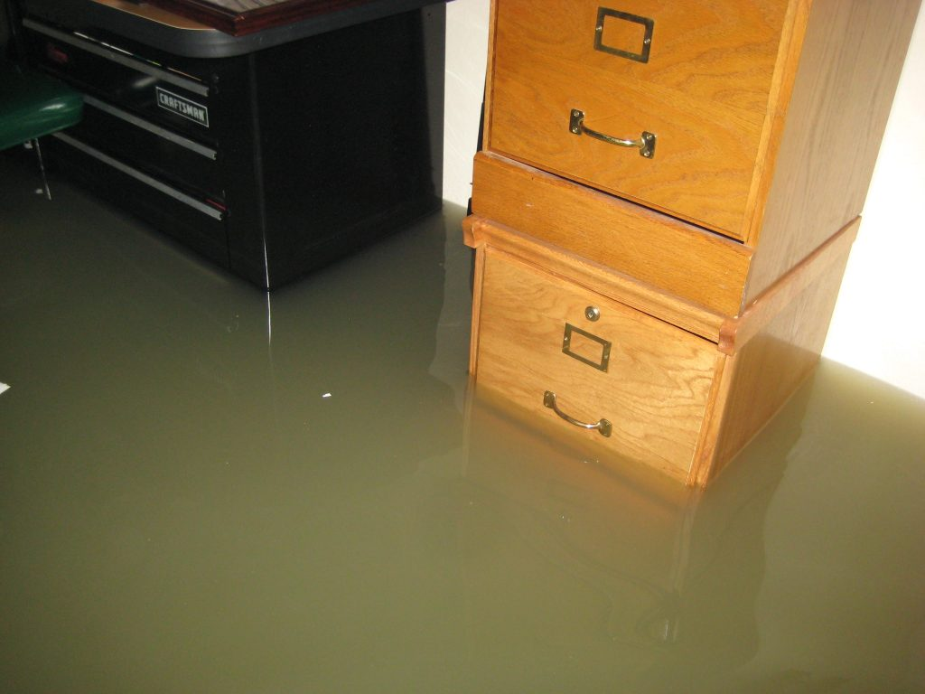 Sewage damage in your home and sewage cleanup services