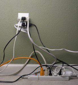 Overloading electrical outlets is a fire hazard | Emergency fire and water restoration services by A&J Specialty Services Inc DKI of Madison, Middleton, Sun Prairie, Waunakee, Milwaukee, WI Dells, Fort Atkinson, Watertown, and Waukesha, Wisconsin