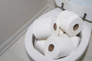 Only flush toilet paper to prevent septic back ups and causing sewage damage cleanup services by A&J Specialty Services Inc DKI of Madison, Middleton, Sun Prairie, Waunakee, Milwaukee, WI Dells, Fort Atkinson, Watertown, and Waukesha, Wisconsin