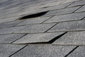 worn out shingles