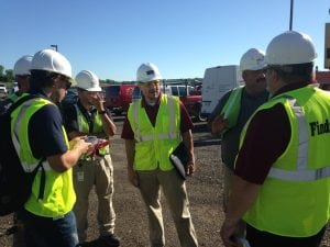 A&J owner and project managers for JC Restoration discuss damages and the course of action