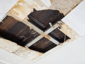Bathroom pipe leaking down into kitchen   Water damage restoration services by A&J Property Restoration DKI of Madison, Middleton, Sun Prairie, Waunakee, Milwaukee, WI Dells, Fort Atkinson, Watertown, and Waukesha, Wisconsin