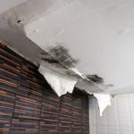 Water leaking from room above | Water damage restoration services by A&J Property Restoration DKI of Madison, Middleton, Sun Prairie, Portage, Waunakee, Milwaukee, WI Dells, Fort Atkinson, Watertown, and Waukesha, Wisconsin