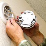 change batteries in smoke detectors