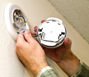 change batteries in smoke detectors services by A&J Property Restoration DKI