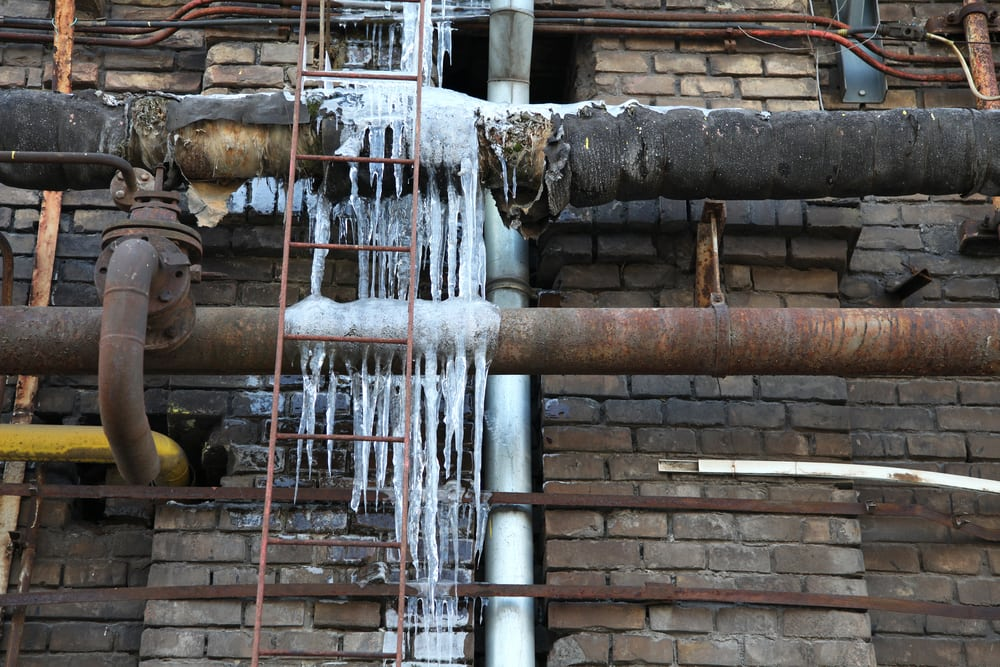 cold weather maintenance tips in building avoid frozen pipesservices by A&J Property Restoration DKI of Madison, Middleton, Sun Prairie, Portage, Waunakee, Milwaukee, WI Dells, Fort Atkinson, Watertown, and Waukesha, Wisconsin