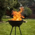 avoid a fire when grilling as part of backyard safety tips this summer | services by A&J Property Restoration DKI of Madison, Middleton, Sun Prairie, Portage, Waunakee, Milwaukee, WI Dells, Fort Atkinson, Watertown, and Waukesha, Wisconsin