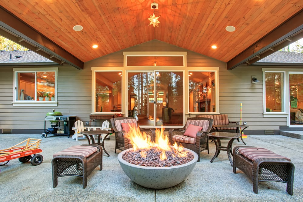 Fire risks summer safety tips: Keep all fire pits and heaters 10 feet away from the home or deck to avoid fire | services by A&J Property Restoration DKI of Madison, Middleton, Sun Prairie, Portage, Waunakee, Milwaukee, WI Dells, Fort Atkinson, Watertown, and Waukesha, Wisconsin