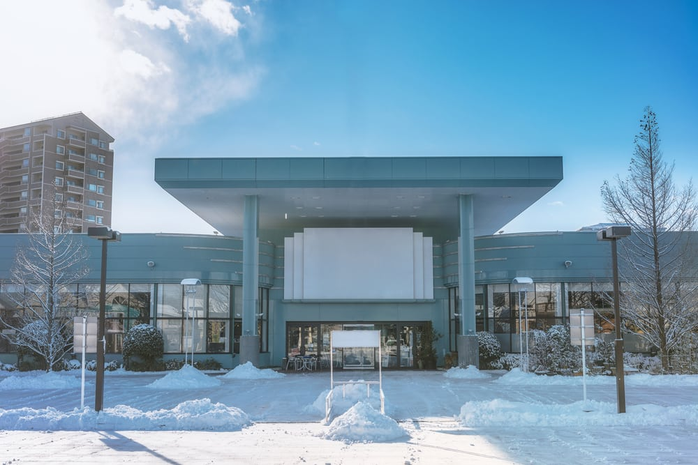 commercial property needing snow removal