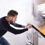 The top cause of indoor fires is cooking | services by A&J Property Restoration DKI of Madison, Middleton, Sun Prairie, Portage, Waunakee, Milwaukee, WI Dells, Fort Atkinson, Watertown, and Waukesha, Wisconsin
