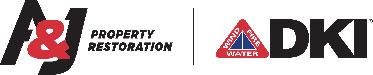 A&J Property Restoration Logo