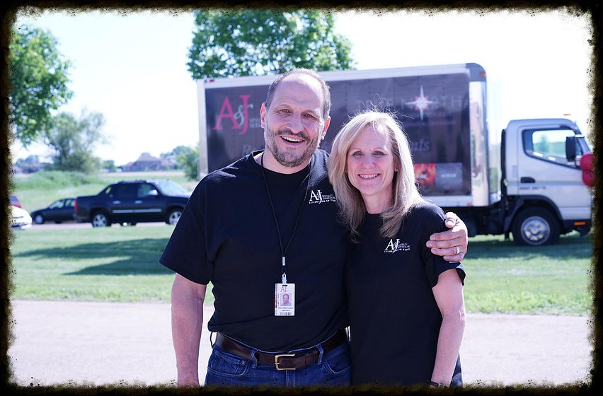 Kent and Lynn Rawhouser of A&J Property Restoration